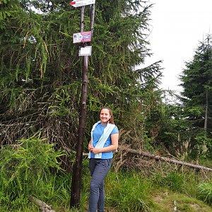 Roman Grebenar na vrcholu Malinów (31.7.2020 9:41)