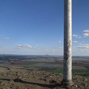 Adam Kulich na vrcholu Radobýl (8.9.2018 16:49)