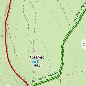 Jiří Tomaštík na vrcholu Plešivec (10.10.2021 13:27)