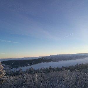 martenzites na vrcholu Fichtelberg (11.1.2020 16:10)