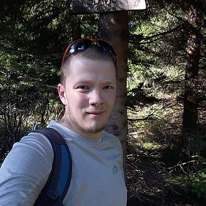 Gajdács Marek na vrcholu Slavíč (21.9.2019 15:05)