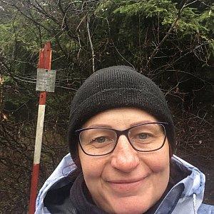 Kamila  Petrová na vrcholu Slavíč (2.11.2019 12:51)