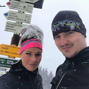 Tomáš Fojcik na vrcholu Slavíč (21.1.2018 12:00)