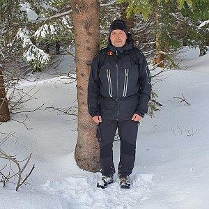 Jiří Gryz na vrcholu Slavíč (22.2.2020 15:31)