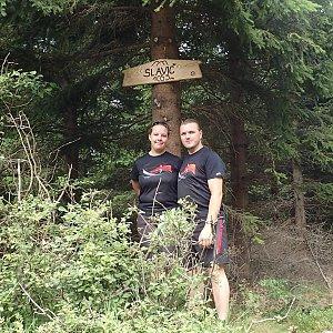 Janča na vrcholu Slavíč (22.7.2018 11:57)