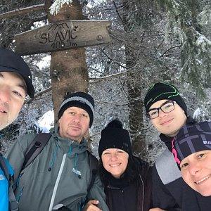 PePa na vrcholu Slavíč (9.1.2021 11:30)