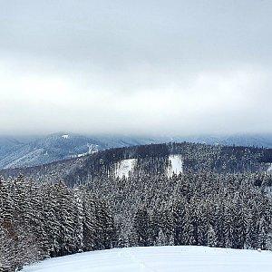 Martin Petřík na vrcholu Slavíč (19.1.2021 14:46)