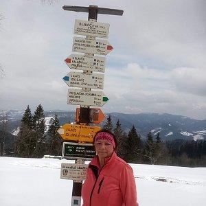 Nuny na vrcholu Slavíč (18.4.2021 18:43)
