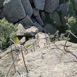 Martina na vrcholu Ořešník (7.8.2021 10:30)
