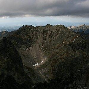 Bouřka na vrcholu Východná Vysoká (7.9.2017 17:38)