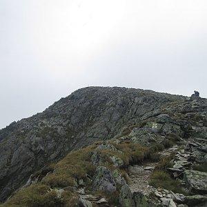 Adam Kulich na vrcholu Papusa (26.8.2018 11:54)