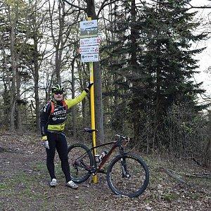 Vítězslav Vrána na vrcholu Makyta (25.4.2020 16:03)