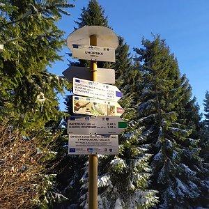 Laina666 na vrcholu Uhorská (21.1.2020 15:27)