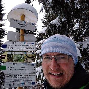 pa3k.soyka na vrcholu Uhorská (22.2.2020 10:48)