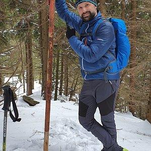 Radoss na vrcholu Uhorská (1.3.2020 11:57)