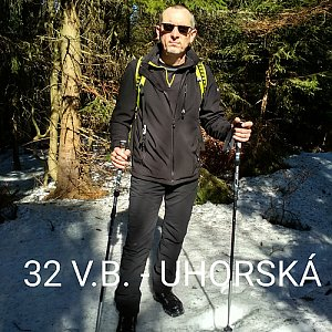 Aleš Sýkora na vrcholu Uhorská (15.3.2020 12:39)