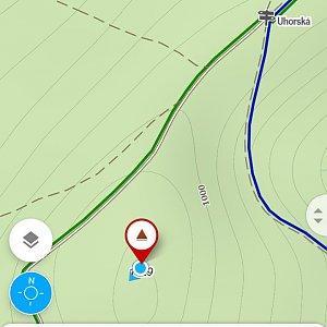 Michaela Karásková na vrcholu Uhorská (5.4.2020 14:49)