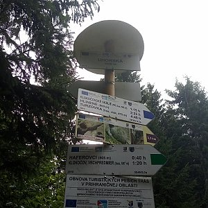 Daniela na vrcholu Uhorská (26.8.2020 8:06)
