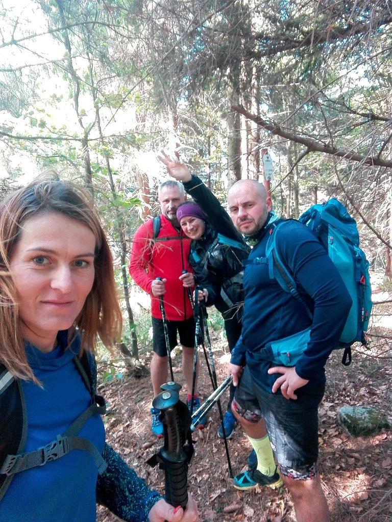 Petule na vrcholu Uhorská (6.10.2018 12:01)
