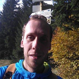 Radek na vrcholu Uhorská (25.10.2020 13:59)
