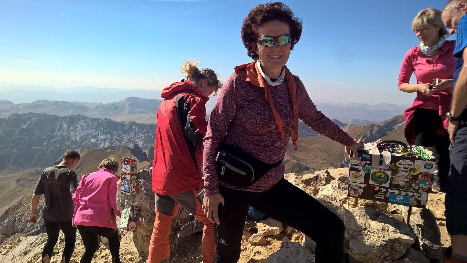 Anna na vrcholu Bobotov Kuk (17.10.2018 12:27)