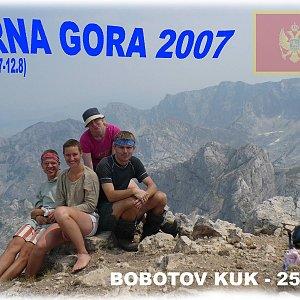 Martin na vrcholu Bobotov Kuk (29.7.2007 11:08)