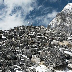 KaMo na vrcholu Kala Patthar (15.3.2016 13:15)