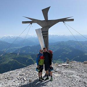 Petra na vrcholu Hochkönig (12.7.2021 15:29)