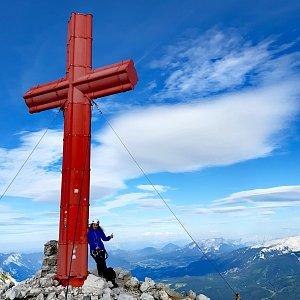 Mársy Montblanc na vrcholu Großer Priel (8.7.2020 18:05)