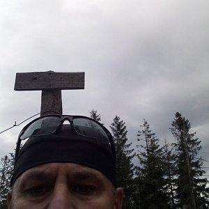 Li Be na vrcholu Kyčera (16.9.2021 14:55)