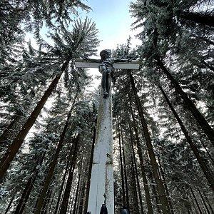 Natálie na vrcholu Sulov (11.12.2020 14:00)
