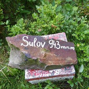 Monika na vrcholu Sulov (8.8.2021 11:18)