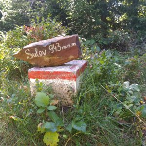 Monika na vrcholu Sulov (9.9.2021 12:09)