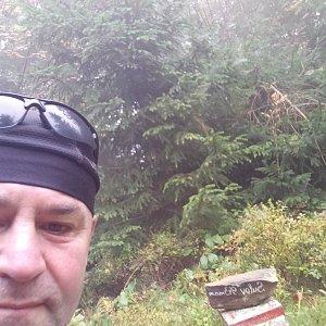 Li Be na vrcholu Sulov (28.9.2021 8:47)