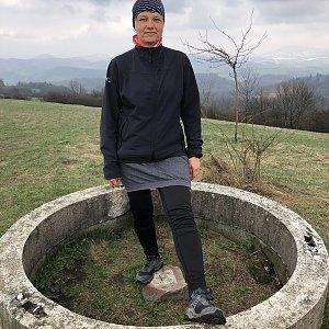 Radka Dubská na vrcholu Svinec (18.4.2021 15:02)