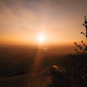 ŠenovKK na vrcholu Halda Ema (11.1.2021 15:37)