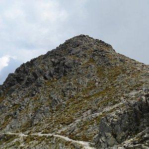 krupjan na vrcholu Veľká Svišťovka (6.8.2018 21:05)