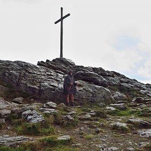 Jarda Vála na vrcholu Großer Arber / Velký Javor (10.8.2020 13:58)