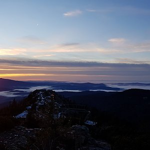 Marek Feest na vrcholu Großer Arber (25.11.2018 7:33)