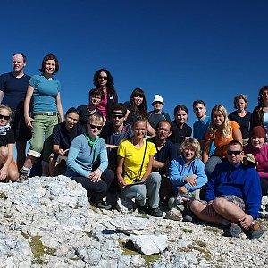krupjan na vrcholu Bovški Gamsovec (3.9.2011 10:10)