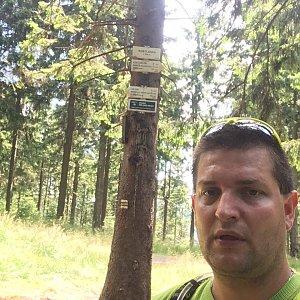 Radim Škrabánek na vrcholu Kobylanka (25.7.2019 11:22)