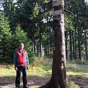 Jarek na vrcholu Kobylanka (19.10.2019 11:20)
