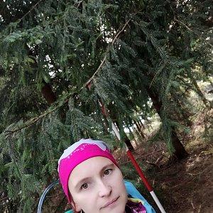 Jana Bartošová na vrcholu Kobylanka (17.11.2019 10:40)