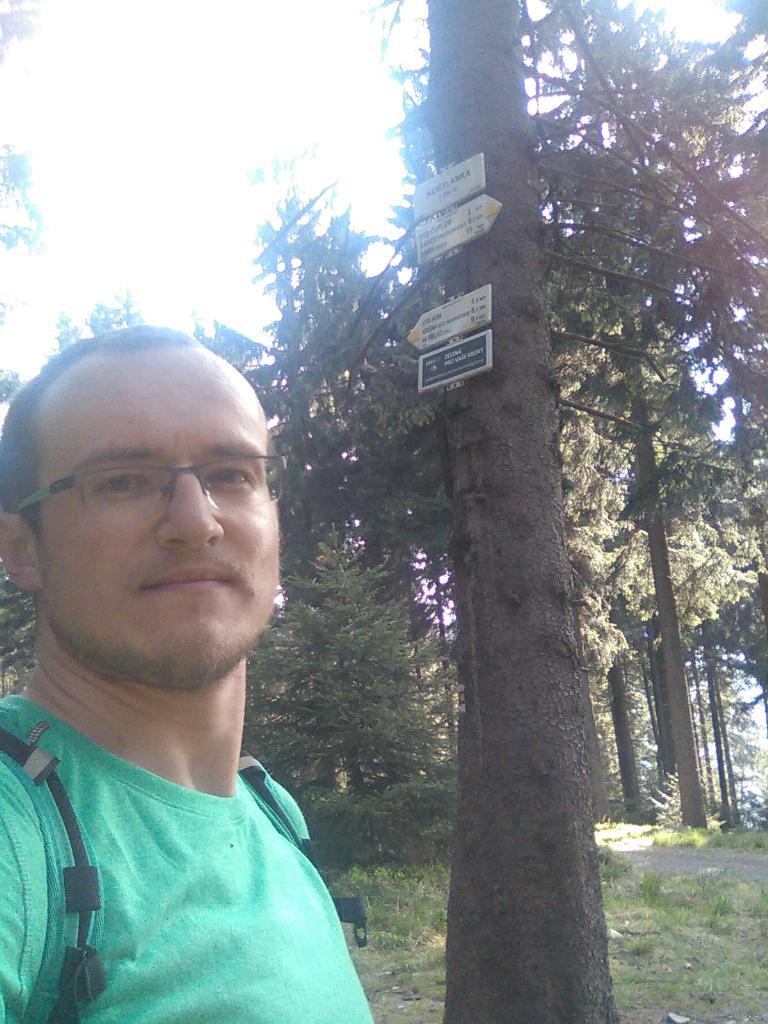 pa3k.soyka na vrcholu Kobylanka (30.4.2018 8:33)