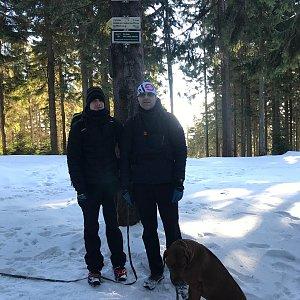 Karin Satoriová na vrcholu Kobylanka (25.1.2020 9:36)