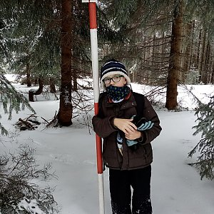 Maty na vrcholu Kobylanka (30.3.2020)