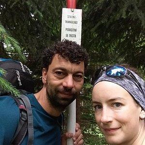 Babunka159 na vrcholu Kobylanka (17.6.2018 9:45)