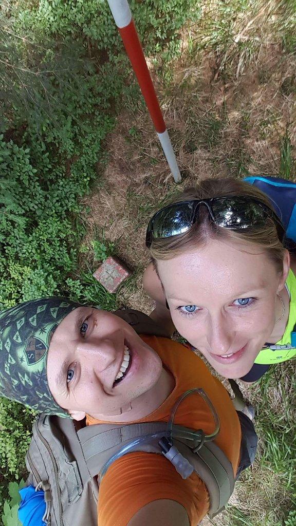 Michaela Karásková na vrcholu Kobylanka (17.6.2018 15:00)