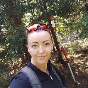 Michelle Sýkorová na vrcholu Kobylanka (8.5.2020 12:10)