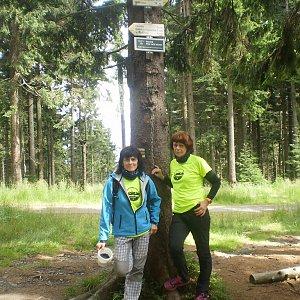 Vlasta a Zdena na vrcholu Kobylanka (1.7.2018 22:46)